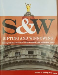 Cover of Sifting & Winnowing.