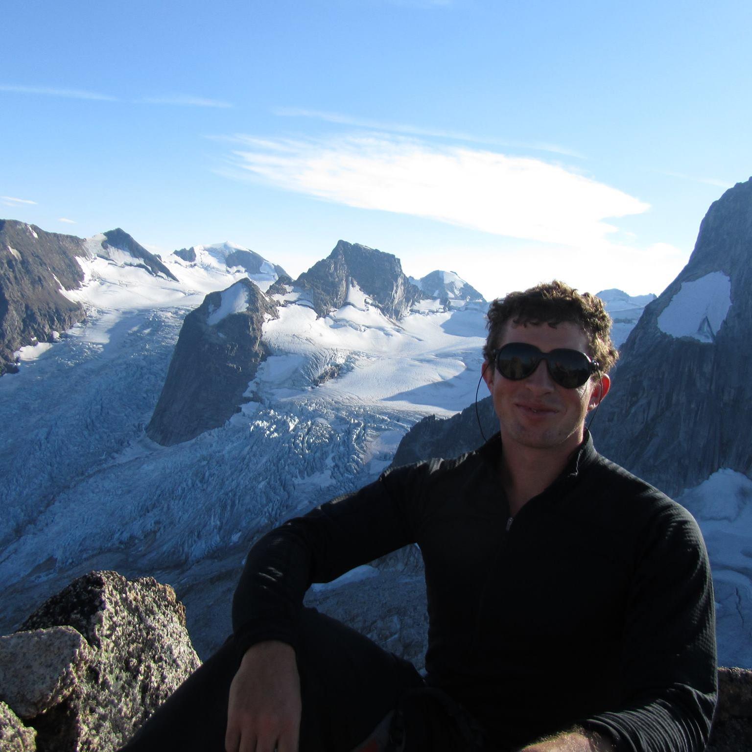 Geoff Sigalet in Rockies