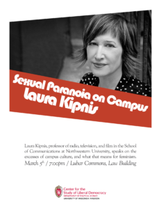 Poster for Kipnis event