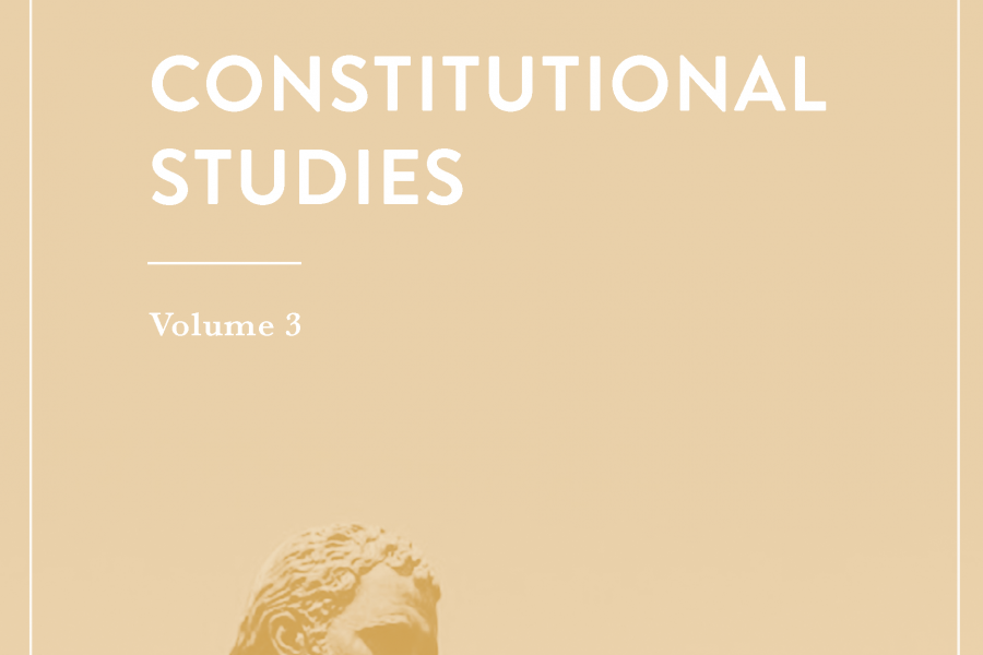 Constitutional Studies cover