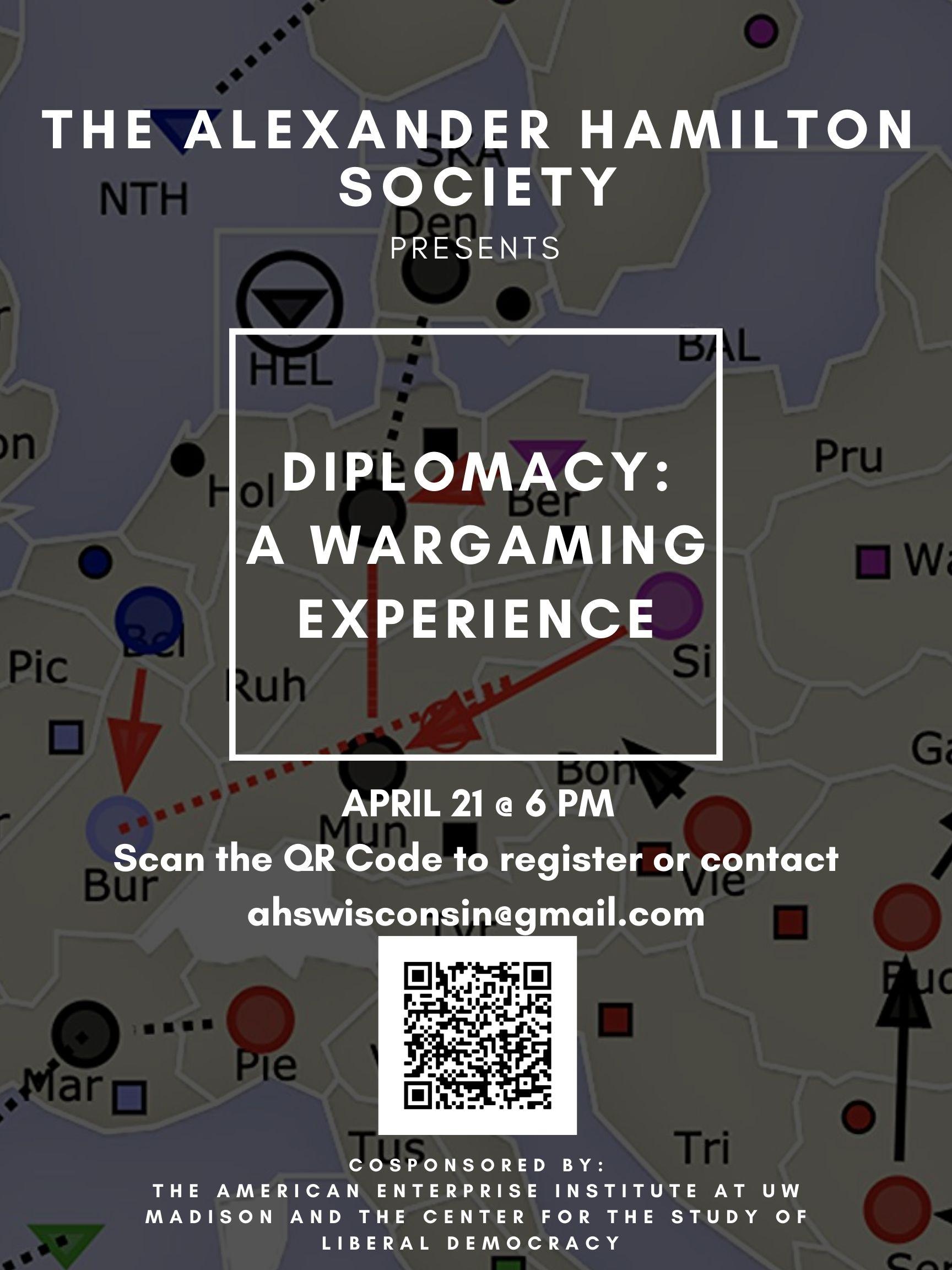 Wargame AHS Poster