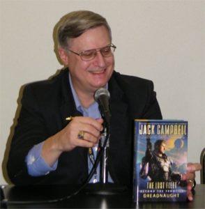 New York Times best-selling author Jack Campbell (John G. Hemry)